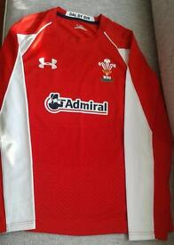 Underarmour Wales XL Rugby Shirt. In New condition.