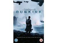 DUNKIRK MOVIE DVD 2017 COMPLETE (DVD) INC EXTRAS