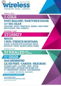 WIRELESS FULL WEEKEND TICKET, need to sell ASAP, hmu offers