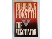 Frederick Forsyth - SIGNED BOOK 1989 - RARE!