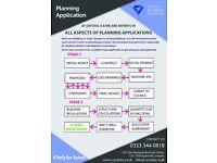 Planning Permission from £549! OFFER! Full design & build loft & rear extension building regulations