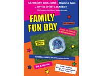 Stall Holders Required for Family Fun Day on Saturday 30th June at Tipton Sports Academy
