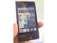 Sony Xperia ST23i unlocked to any network and Blackberry Curve £10