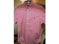 Mens Ralph Lauren Short-Sleeved Shirt - worn once!