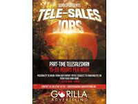 PART TIME - TELESALES JOBS