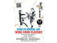 Wing Chun Kung-Fu Self-Defence Lessons in London