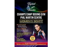 Women's BoxFit Session Thursday