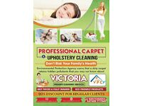 Don,t Risk Your Family's Health Carpet and Upholstery Cleaning