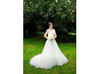 Size 12 ivory wedding dress