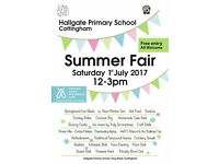 Summer Fayre at Hallgate Primary School