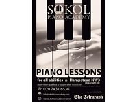 Premier piano academy teachers now accepting students