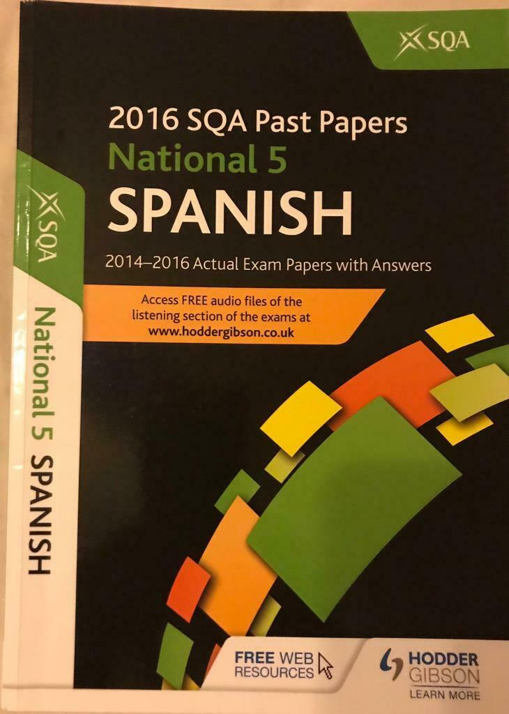 National 5 Hodder and Gibson Spanish Book | in Falkirk | Gumtree