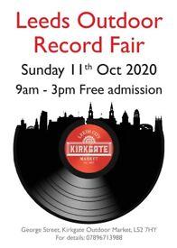 Leeds Outdoor Record Fair - Sunday 11th October