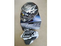 'BOX' BX-1 'WEB' Full-face Motorcycle Helmet - New in box