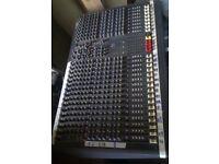 Spirit Soundcraft 24 channel mixer