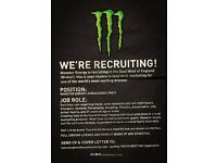 Monster Energy Marketing Ambassadors