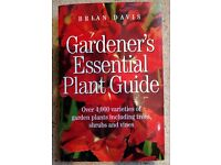 Gardener's Essential Plant Guide - by Brian Davis. Great condition book!