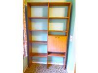 Large Wood Bookcase - Wooden Book Case Bookshelves Shelves Shelving Storage Display Unit Bookshelf