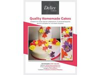 Quality cakes for those special occasions
