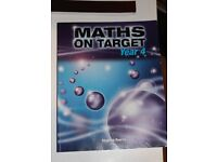 Maths on Target Year 4 by Stephen Pearce