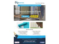 DCJ painting & decorating services