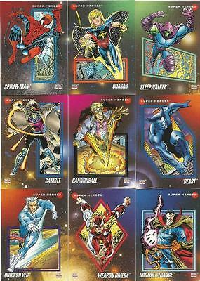 Marvel Universe Series 3 Full 200 Card Base Set of Trading Cards from Impel 1992