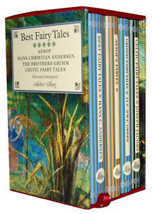 Best Fairy Tales Collectors Library 4 Books Box Gift Set Hans Christian Andersen