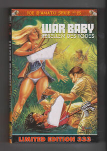 WAR BABY VERY RARE, JOE D'AMATO,  LIMITED TO 333 LONG OOP UNCUT NEW SEALED