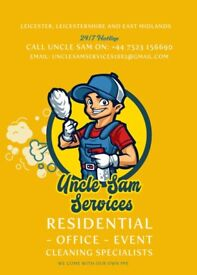 Cleaner with Offers for New Year...