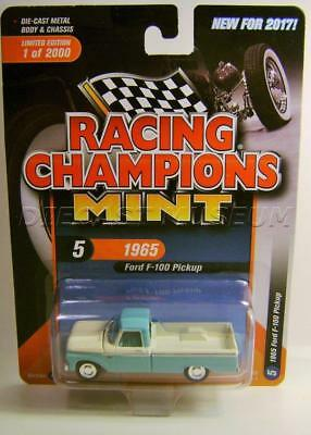 1965 '65 FORD F-100 PICKUP TRUCK VERSION B RACING CHAMPIONS MINT DIECAST 2017