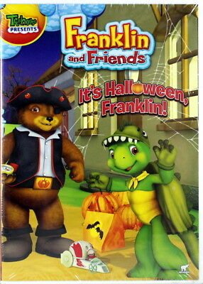 Franklin It's Halloween Franklin NEW DVD 4 Classic Episodes Creepy Clock Paints](Episodes Halloween)