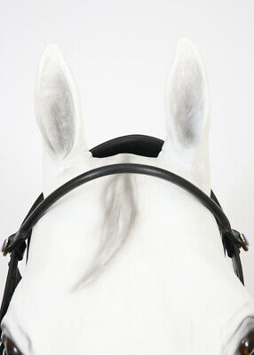 Two-Piece Detachable Browband Buffalo Bridle Bling