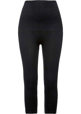 Damen Figurformende Shape Seamless Capri Leggings Level 2 schwarz Gr. 48/50 (XL)
