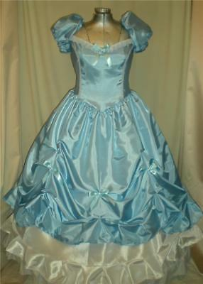 Southern Belle Cinderella Princess Civil War Ball Gown Dress, Your Size Choice