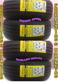 4-205-50ZR 16 87W OPALS 4 TYRE'S INCLUDING FITTING BALANCING ONLY £140 NEW TYRE'S 2055016