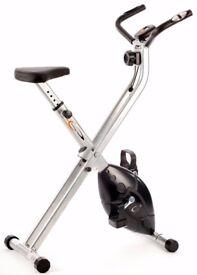 Exercise Bike V-Fit MXC1 Folding X-Frame Magnetic