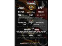 Download festival RIP sleepy hollow tickets x2