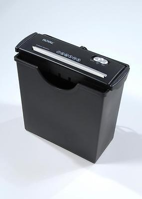 """Royal Consumer JS55 Paper Shredder - 89107P Shredder 2.75"""" x 8"""" x 8"""" NEW"""