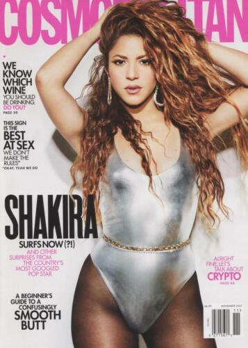 Cosmopolitan Magazine November 2021 SHAKIRA