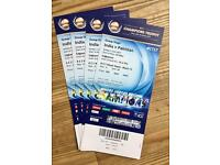 4 ticket for Pak v India @ Champions Trophy
