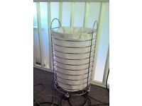 REDUCED Good quality Round Laundry Basket on Wheels