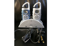 Binatone MR700 Twin Personal Mobile Radio (Walkie Talkie)/FM/Stop Watch