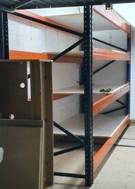 Longspan Metal Pallet Racking 220x350x120