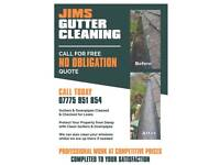 Gutter Cleaning services..