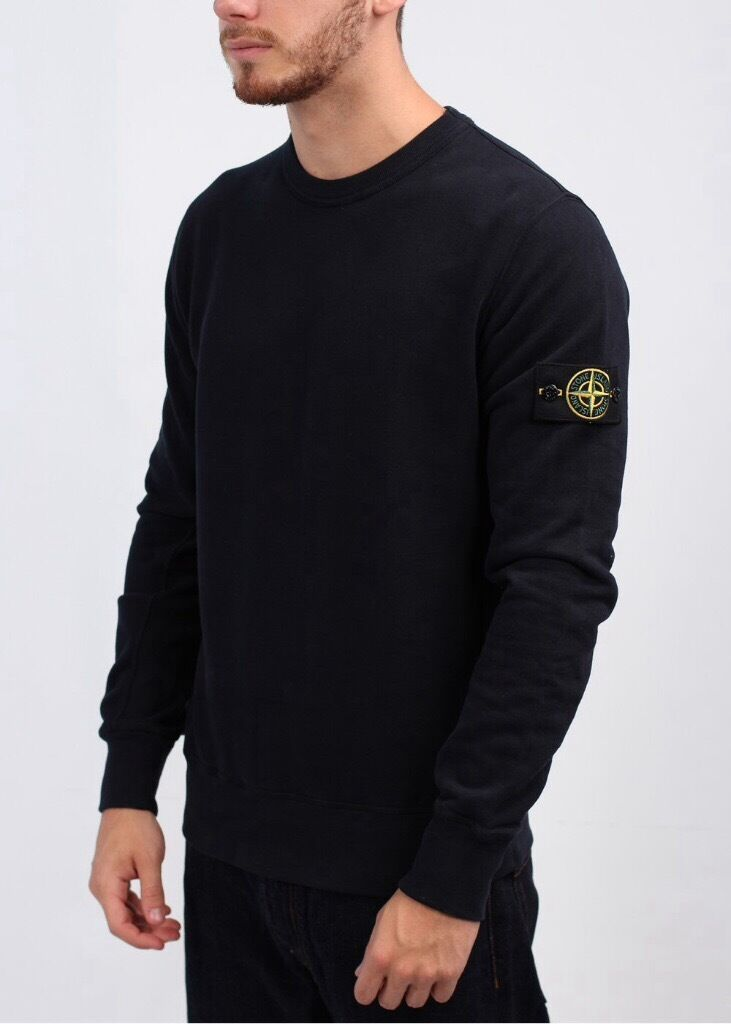 brand new stone island jumper black mens rrp 135 in. Black Bedroom Furniture Sets. Home Design Ideas