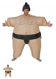 2 x automatic blow up Sumo suits