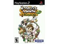 Harvest Moon A Wonderful Life SE PS2