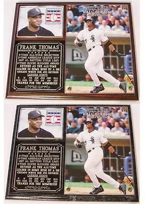Frank Thomas Chicago White Sox 2014 Hall of Fame Induction Photo Plaque Chicago White Sox Plaque
