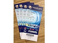 4 tickets for Pak v India @ Champions Trophy