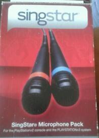 Singstar for playstation 2 & 3